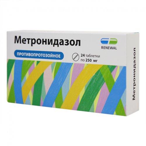 Метронидазол от чего