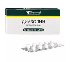 Диазолин таблетки инструкция