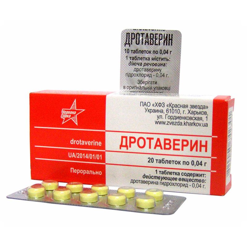 Дротаверин таблетки от чего