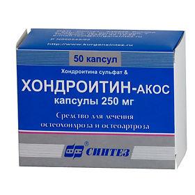 Хондроитин акос капсулы