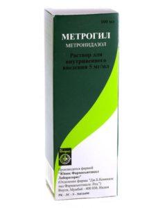 Метрогил раствор