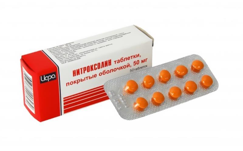 Противомикробные средства Нитроксолин