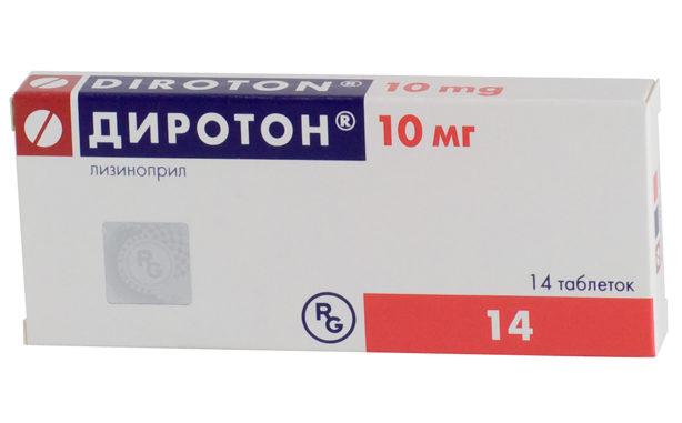 Диротон таблетки