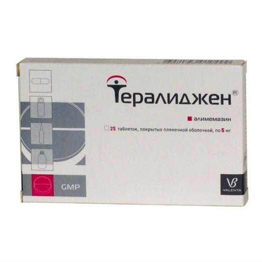 Тералиджен таблетки