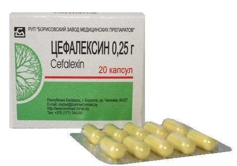Цефалексин таблетки
