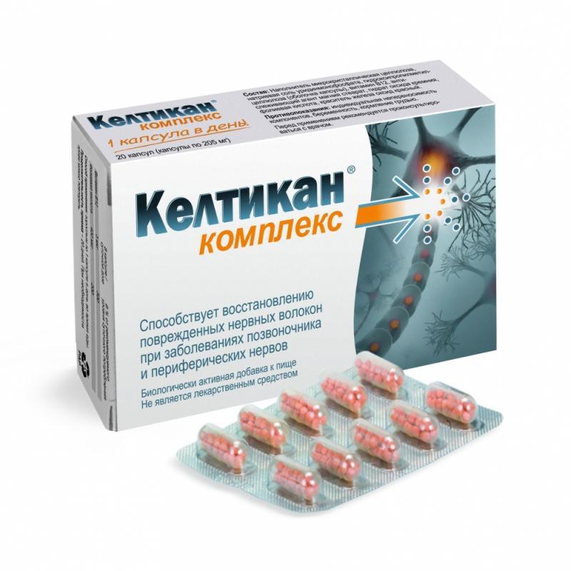 Келтикан в таблетках