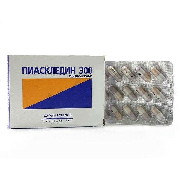 Пиаскледин таблетки